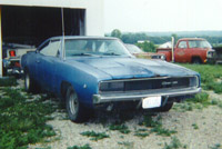 [1968 Blue Charger - Front]