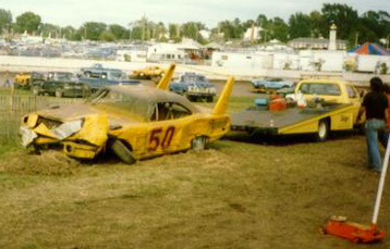 [The #50 SuperBird After The Race]